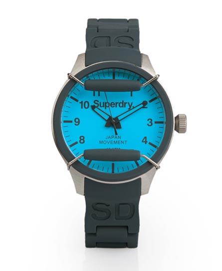 Superdry Scuba Pop Watch Grey