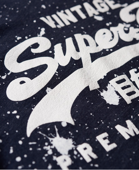 Superdry Premium Goods Paint Splatter T-Shirt