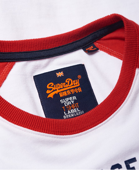 Superdry Shirt Shop Tri Raglan T-Shirt