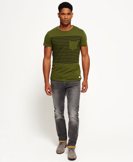 Slim-fit Corporal jeans