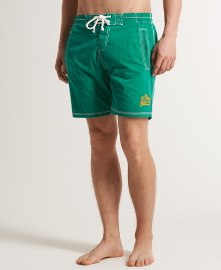 Superdry Premium Deck Shorts Green