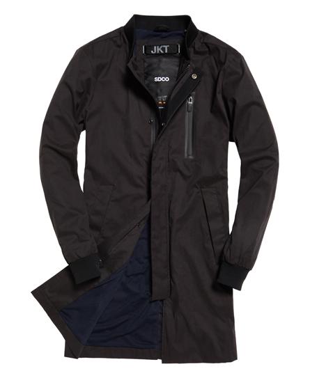 superdry blouson bombardier long nordic vestes pour homme. Black Bedroom Furniture Sets. Home Design Ideas