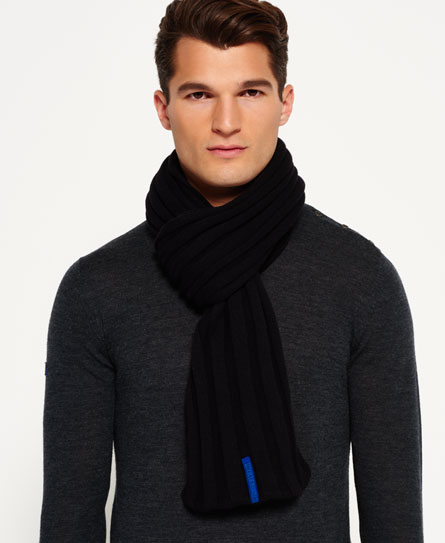 Superdry IE Classic Scarf Black