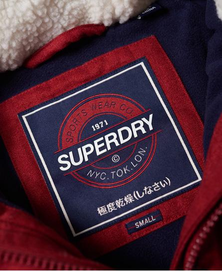 Superdry Tall Marl Steppjacke mit Knebelknöpfen