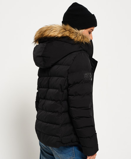 Superdry Veste à capuche Sd-X Artctic Fur