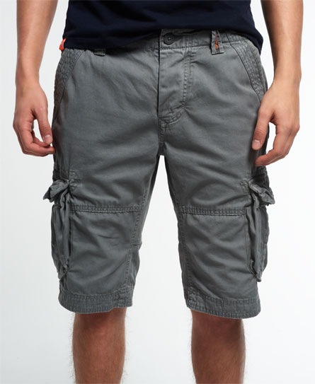 james grey Superdry Core Cargo Lite shorts