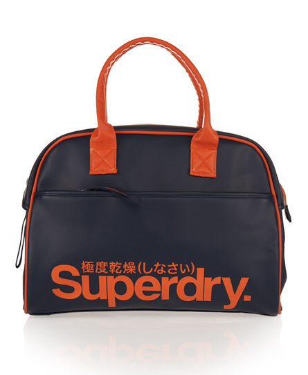 Superdry Tennis Tote Navy