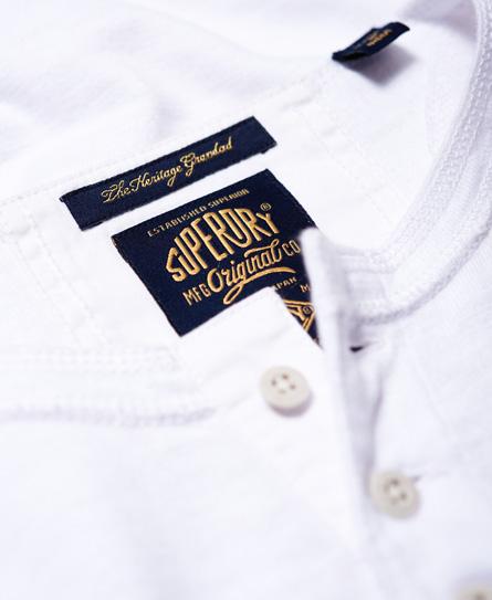 Superdry Heritage Grandad shirt