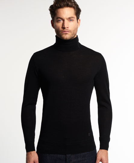 Discover the range of men's turtleneck and roll neck sweaters with ASOS. From a variety of styles and colors, in merino wool and lambswool. Shop now at ASOS. ASOS DESIGN muscle fit ribbed roll neck sweater in black & white twist. $ ASOS DESIGN cotton roll neck in black. $ ASOS DESIGN muscle fit ribbed roll neck sweater in burgundy.
