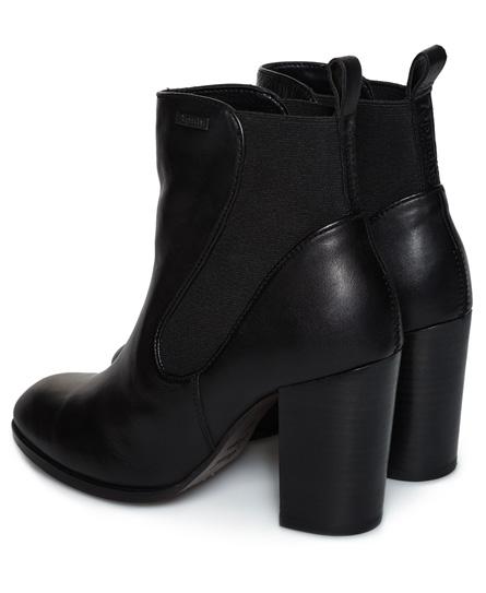 Superdry Chelsea Boots à talon Fleur