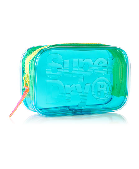 Superdry Baby Jelly Purse Blue