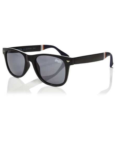 glänzend schwarz Superdry Superfarer Sonnenbrille