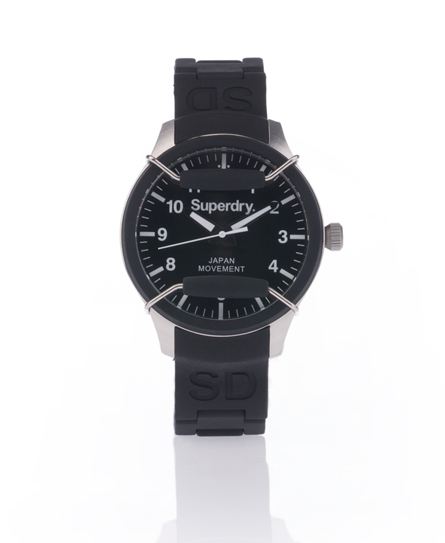 Superdry Scuba Midi Watch Black