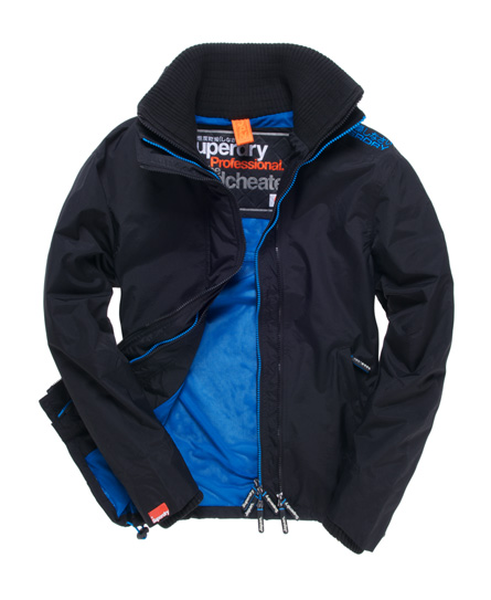 superdry pop zip windcheater jacke herren jacken m ntel. Black Bedroom Furniture Sets. Home Design Ideas