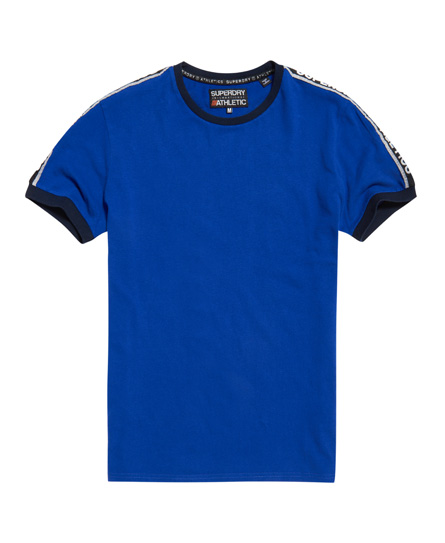 superdry stadium kobaltblau Superdry Stadium Ringer T-Shirt