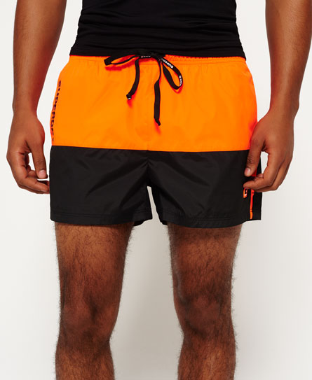Sports Active Colour Block Shorts