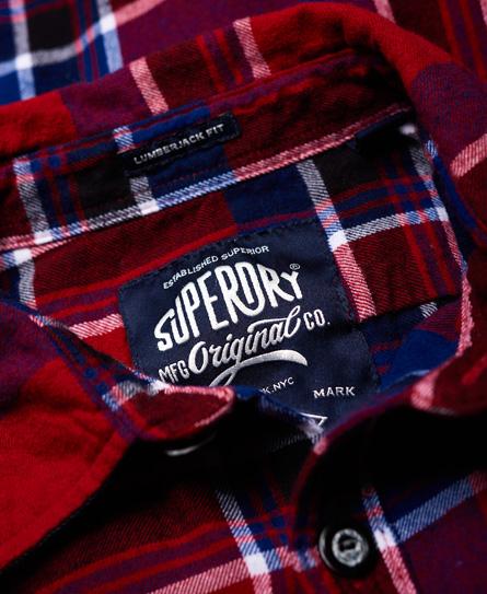 Superdry Skovmandsskjorte med logomærker