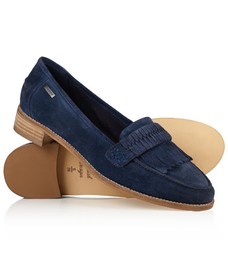 marineblau Superdry Kilty Loafer