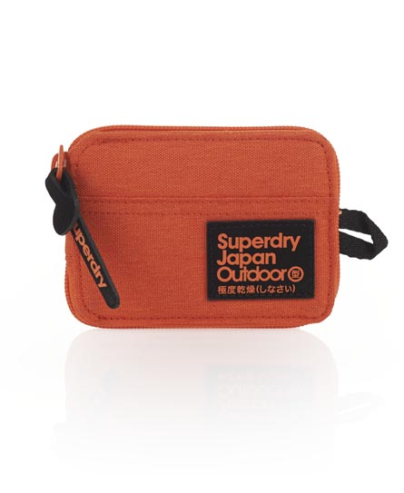 Superdry Super Montana Wallet Orange