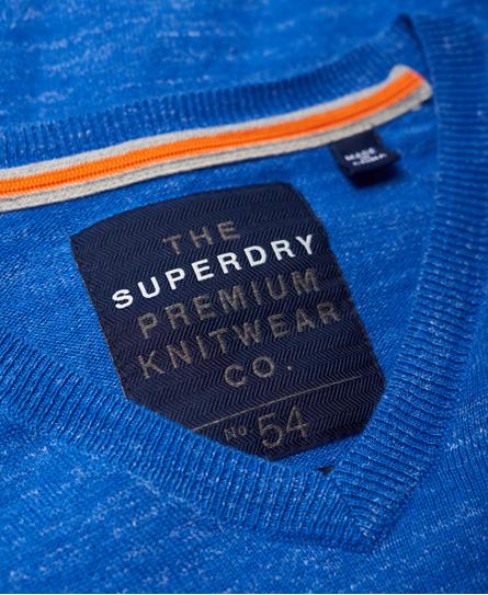 Superdry Orange Label Vee Neck Jumper