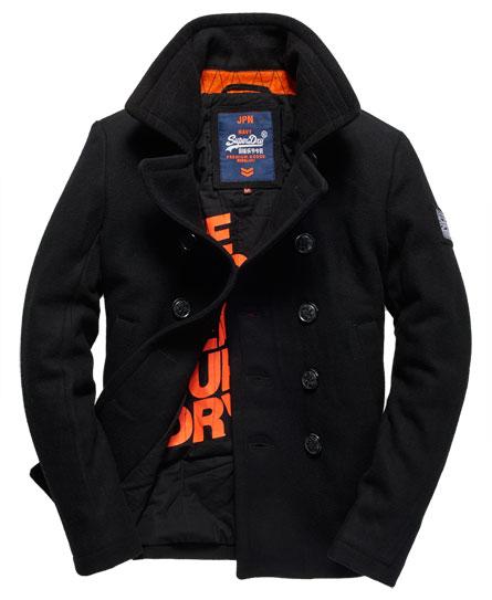 Superdry Rookie Pea Coat Men S Jackets