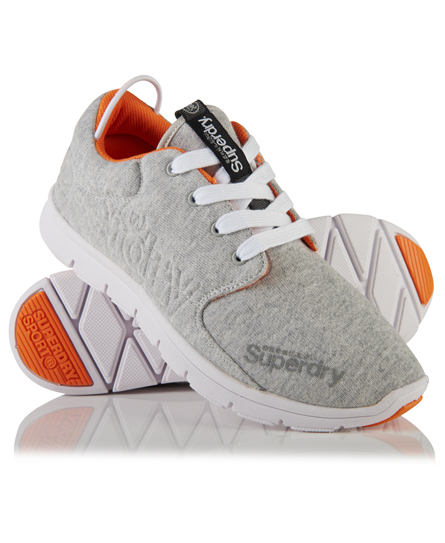 Superdry Scuba Runner Trainers Grey Grit 4226652000037