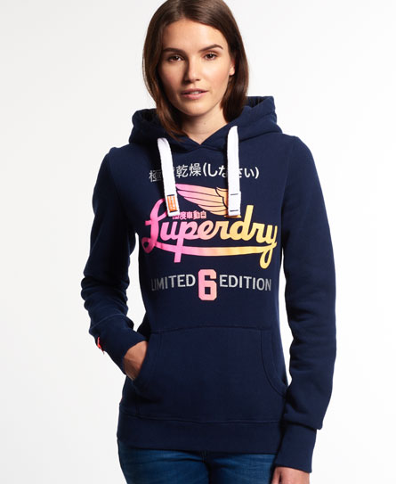 superdry limited icarus hoodie damen hoodies. Black Bedroom Furniture Sets. Home Design Ideas