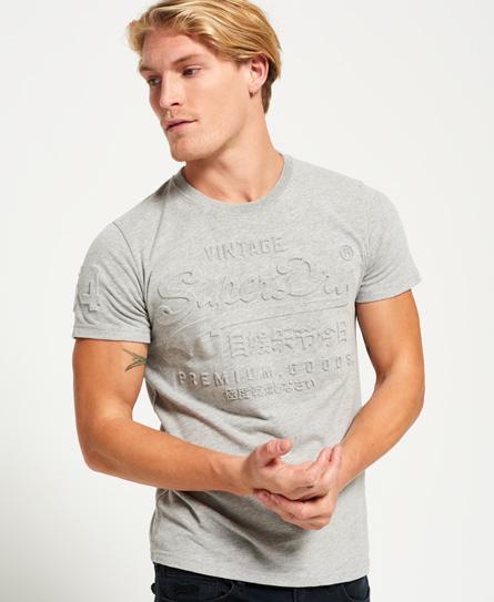 Superdry Premium Goods T-Shirt mit Prägung