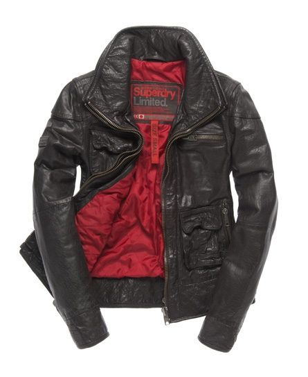 Superdry Tarpit Jacket Brown