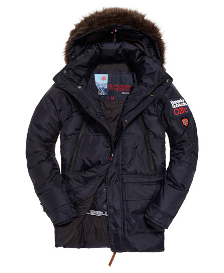 Superdry Canadian Ski Parka Jacket - Men's Jackets
