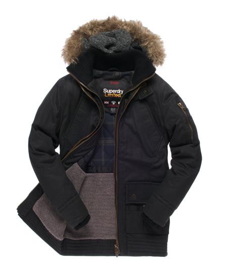 Superdry Patrol Jacket Black