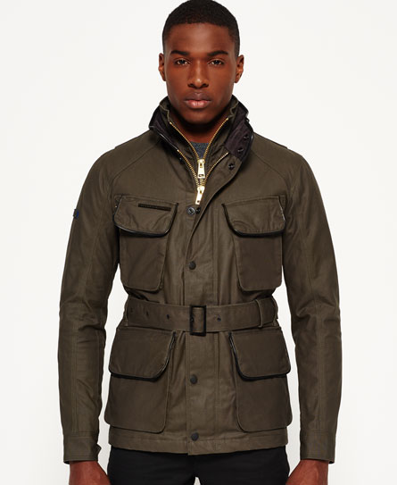 Leading Motorcycle Jacket by Superdry