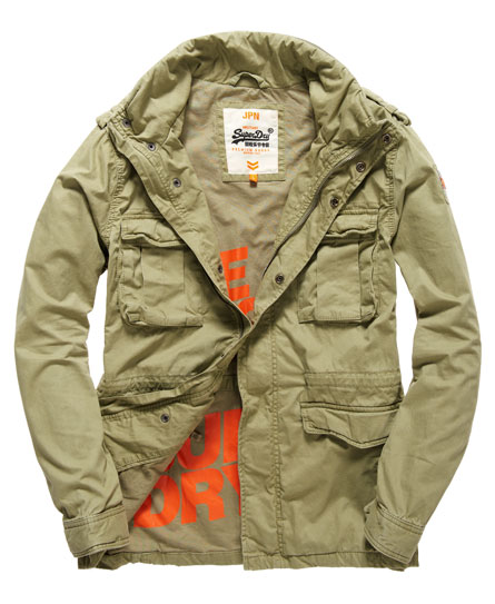 superdry rookie military jacke herren jacken m ntel. Black Bedroom Furniture Sets. Home Design Ideas
