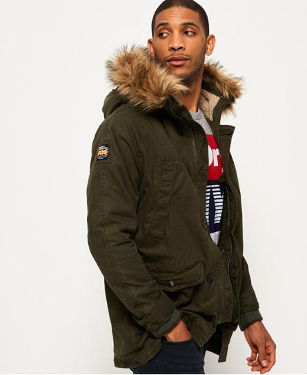 Superdry Rookie Heavy Weather Parka Jacket - Men's Jackets