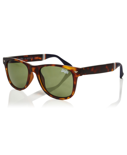 matt schildpatt Superdry Superfarer Sonnenbrille