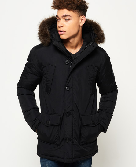 Mens faux fur jackets uk