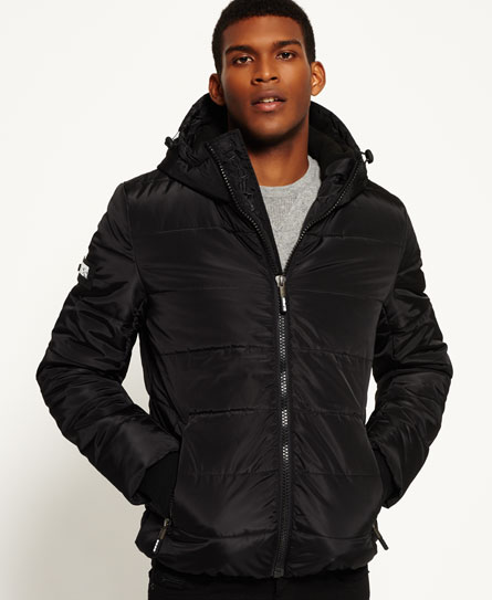 black/black Superdry Sports donsjack