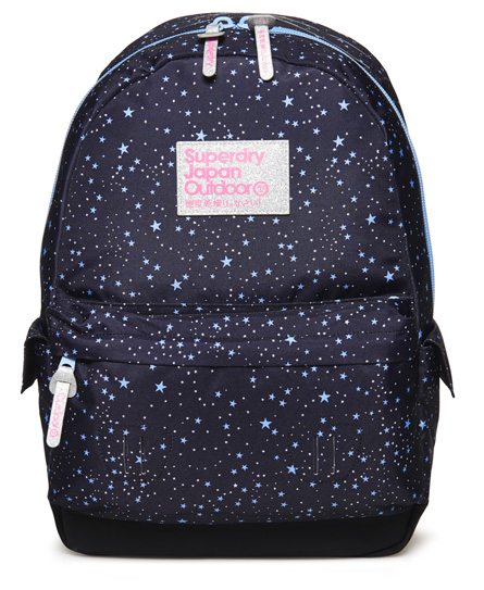 blue Superdry Moonlight Montana Rucksack