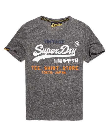 Superdry Shirt Shop Tri T-shirt Dark Grey