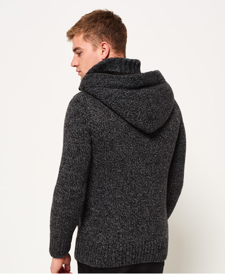 Superdry Frontier Hooded Henley Jumper