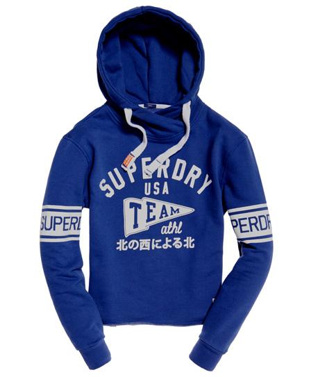 Superdry SD College Crop Hoodie