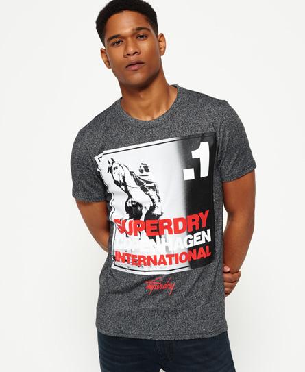 Superdry Superdry T-shirt med firkantet foto af København