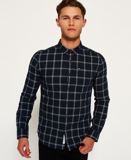 superdry chemise en oxford alumni chemises pour homme. Black Bedroom Furniture Sets. Home Design Ideas