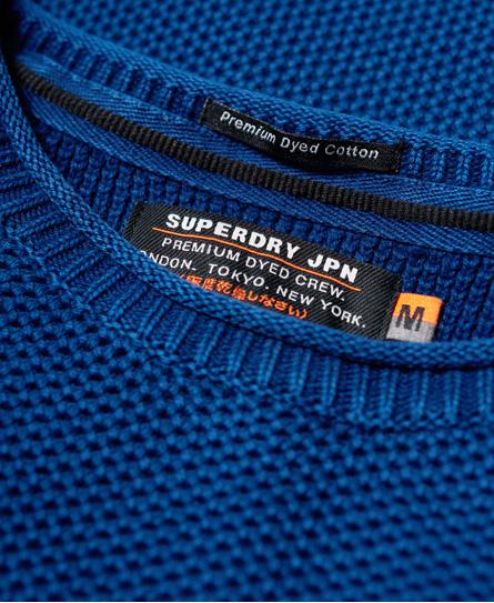 Superdry Garment Dye L.A. Textured Crew Jumper