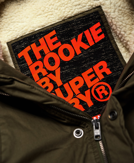 Superdry Rookie Military Parka Jacket