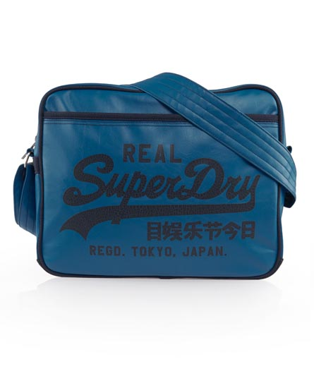 Superdry Classic Alumni Bag Blue