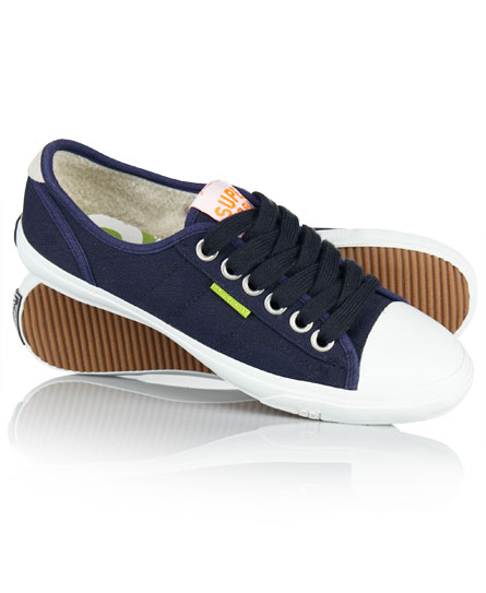 Superdry Low Pro Shoes Navy