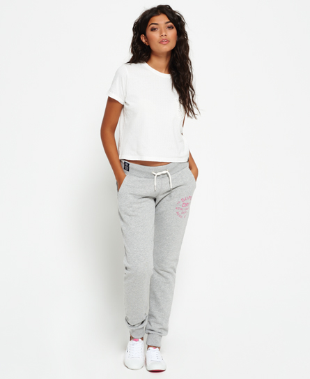 Superdry Pantalon de jogging Athletic League Gris