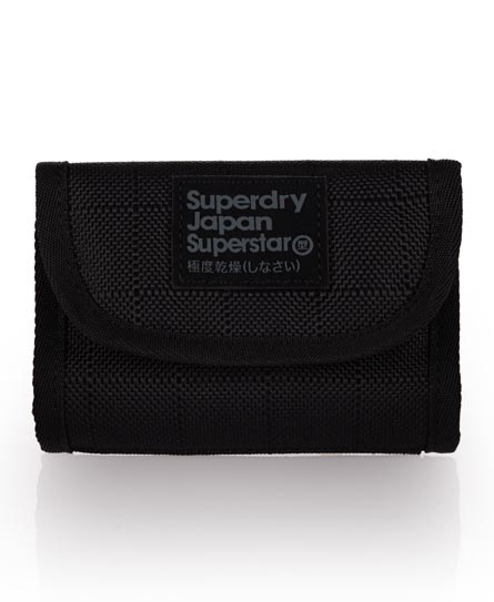 Superdry Montana Ripstop Wallet Black