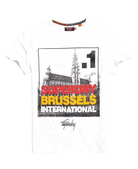 Superdry Superdry Kasseformet fotoby Bruxelles T-shirt